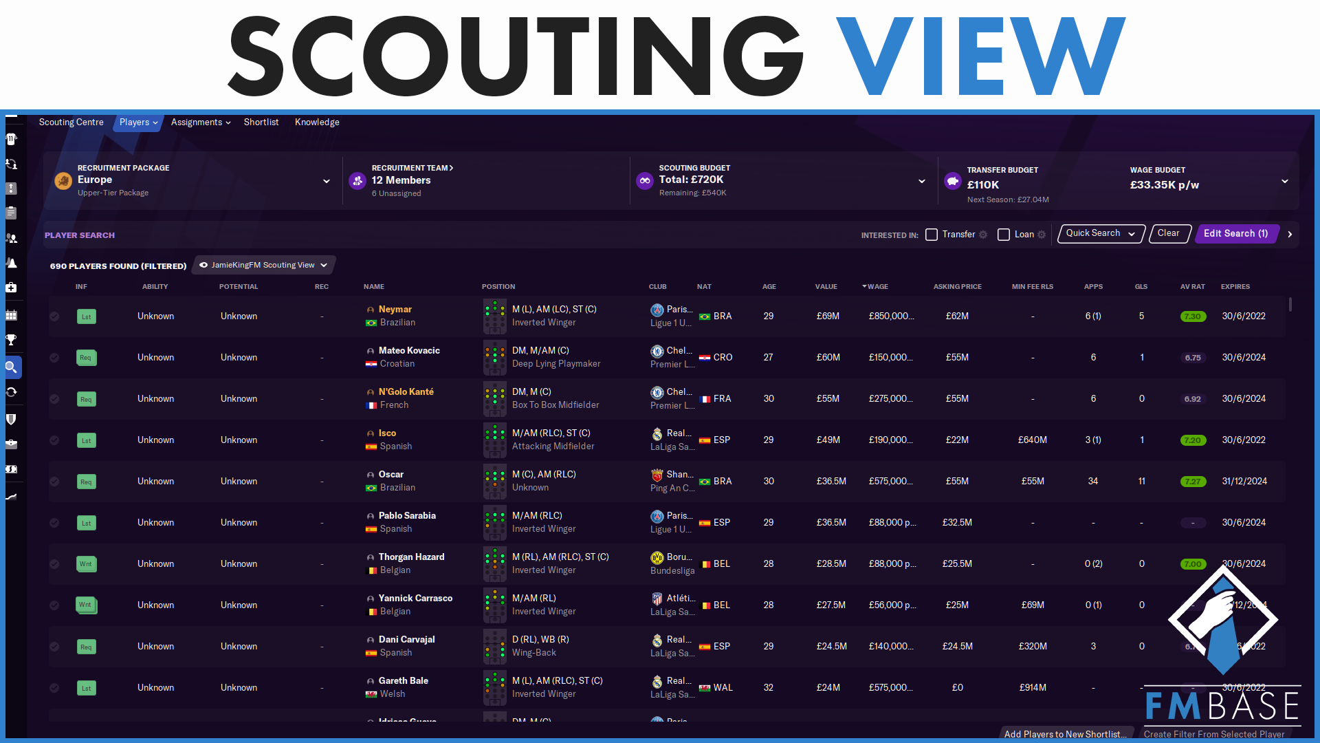 """""""FM21 - Custom View - Scouting"""" feature image"""