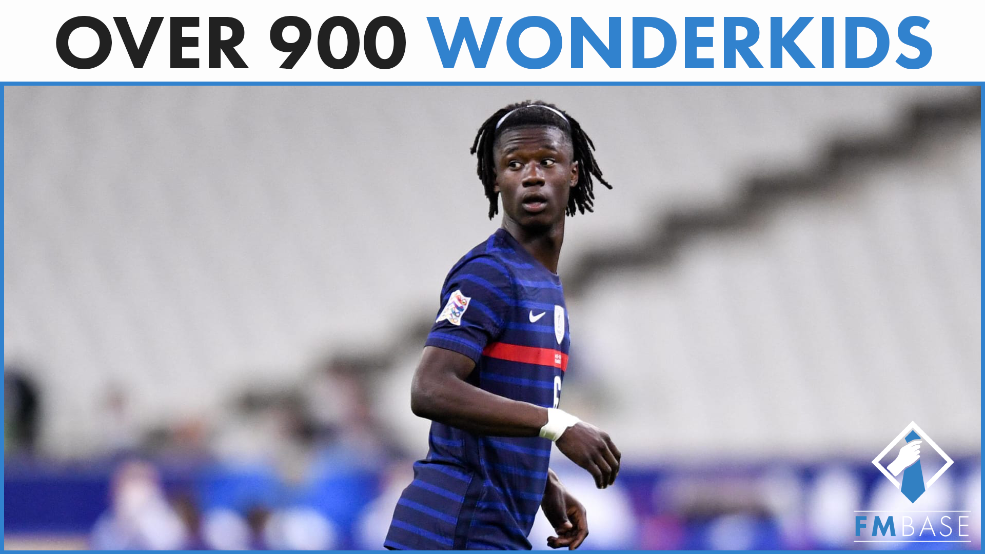 """FM21 Ultimate Wonderkids List"" feature image"
