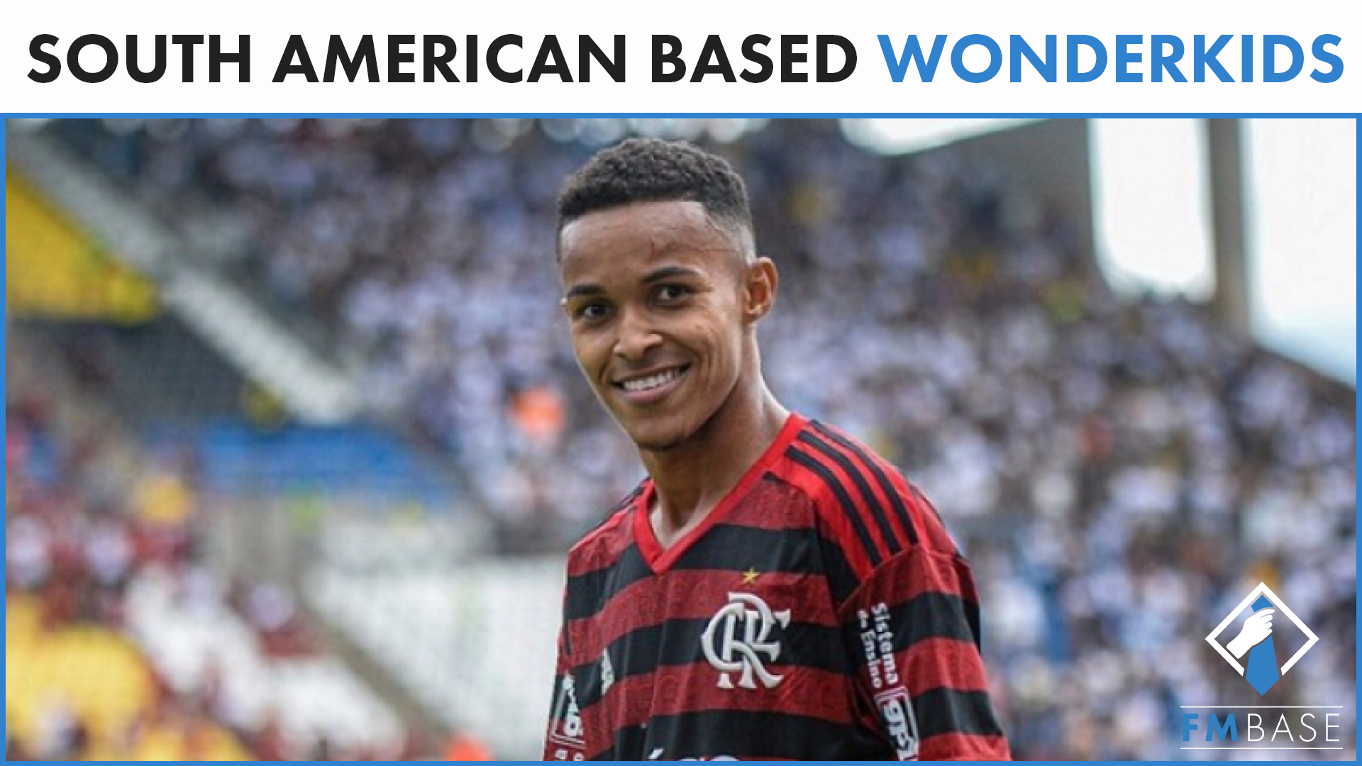 """FM21 South American Wonderkids"" feature image"