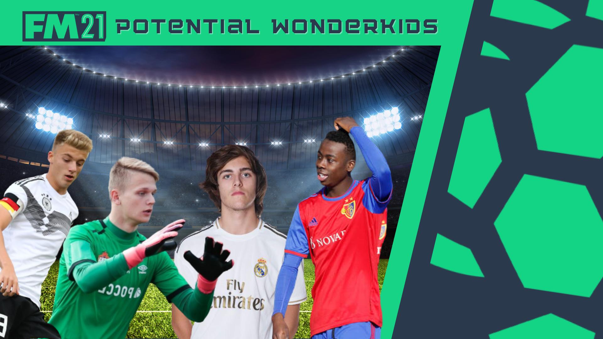 """""""Potential FM21 Wonderkids"""" feature image"""