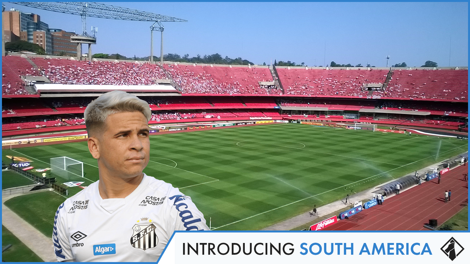 """""""FM21Teams to Manage in South America"""" feature image"""