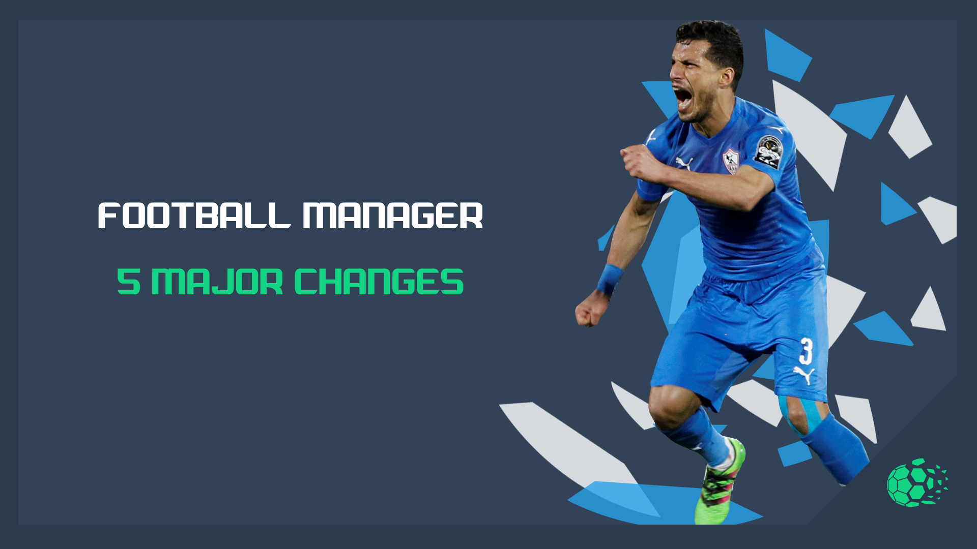 """""""FM20Football Manager - 5 Major Changes"""" feature image"""