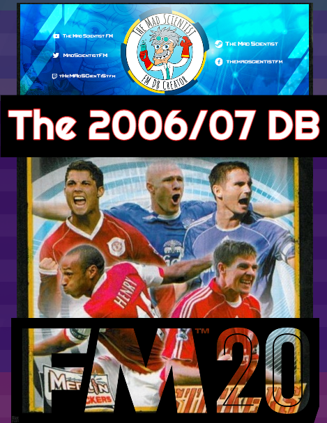 """FM20 2006/07 Database for FM20 by tHeMAdSCienTiSt"" feature image"