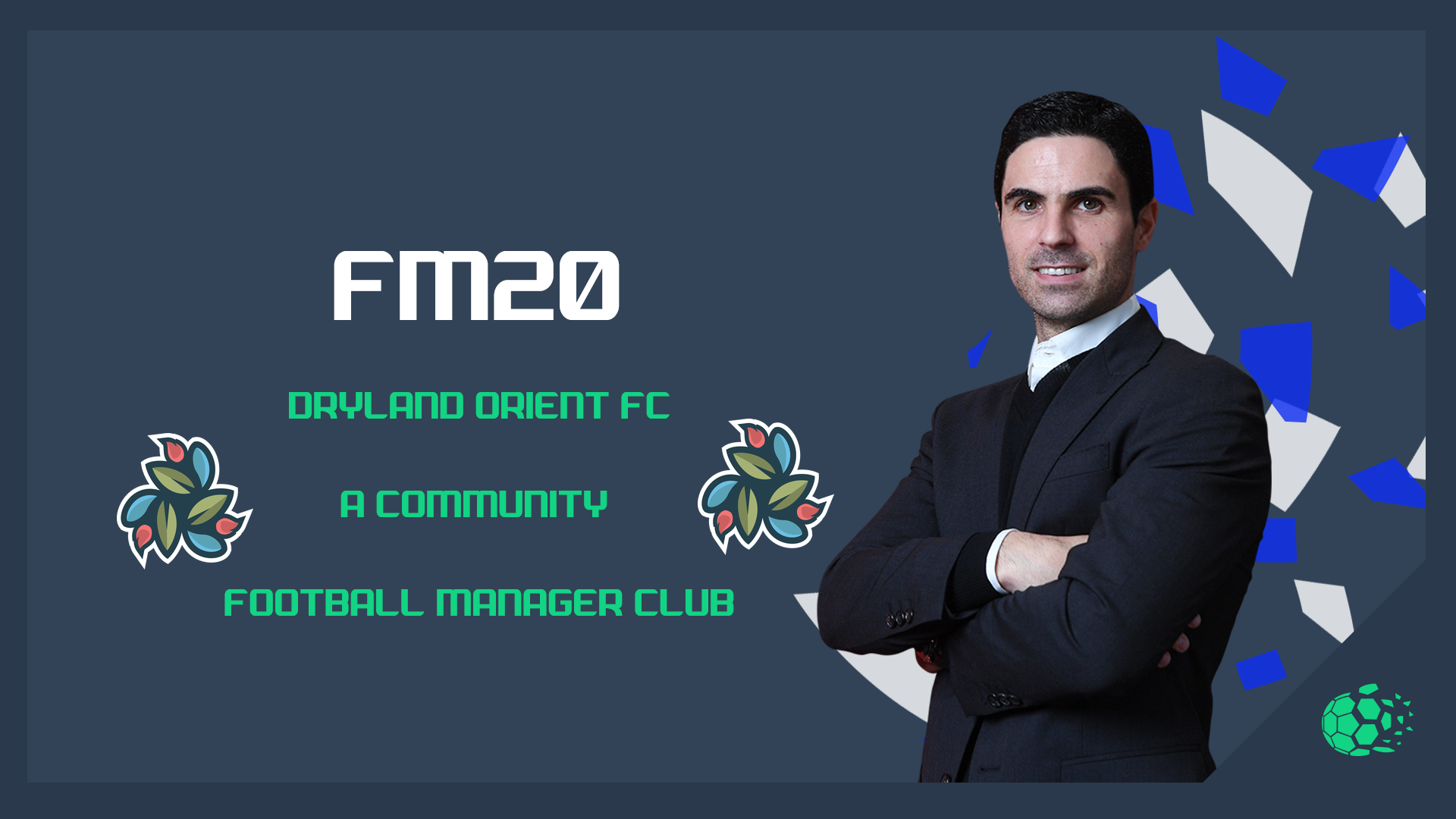 """""""FM20Dryland Orient F.C - A Community Football Manager Club"""" feature image"""