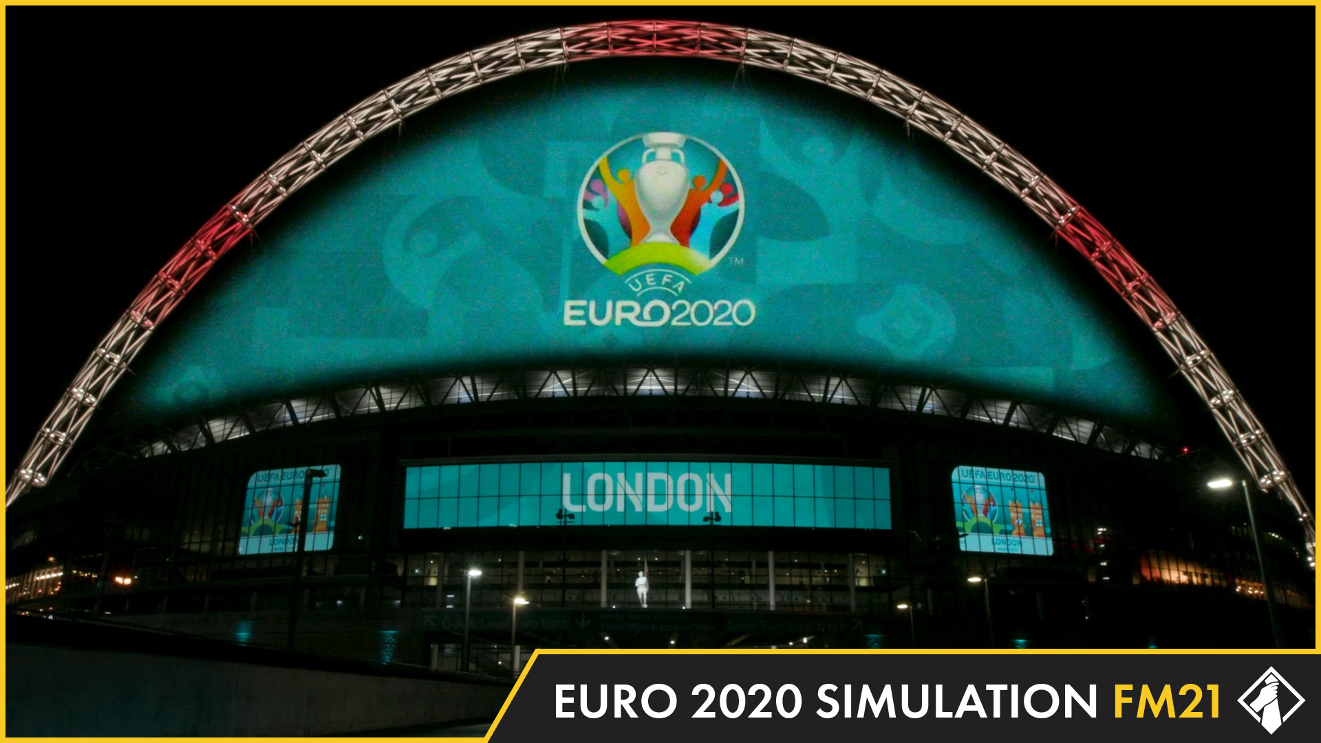 """""""FM21 Simulates Euro 2020"""" feature image"""